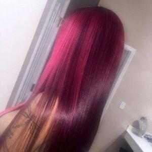 custom colored hair of your choice